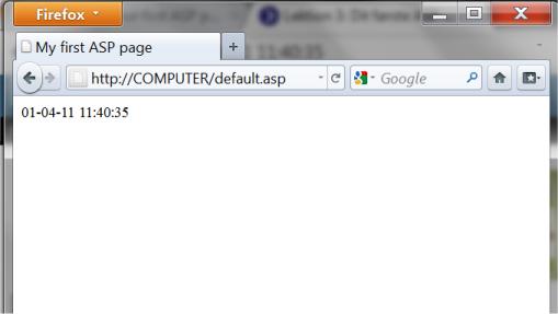 Illustration: Result in the browser